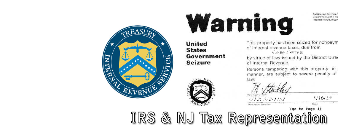IRS & NJ Tax Issue Representation